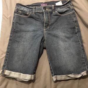 NYDJ- Blue Jean Shorts